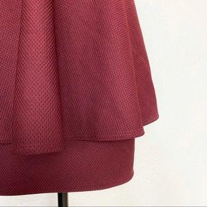 Lulu's Dresses - Lulu's Formal Maroon Mini Dress Size Large